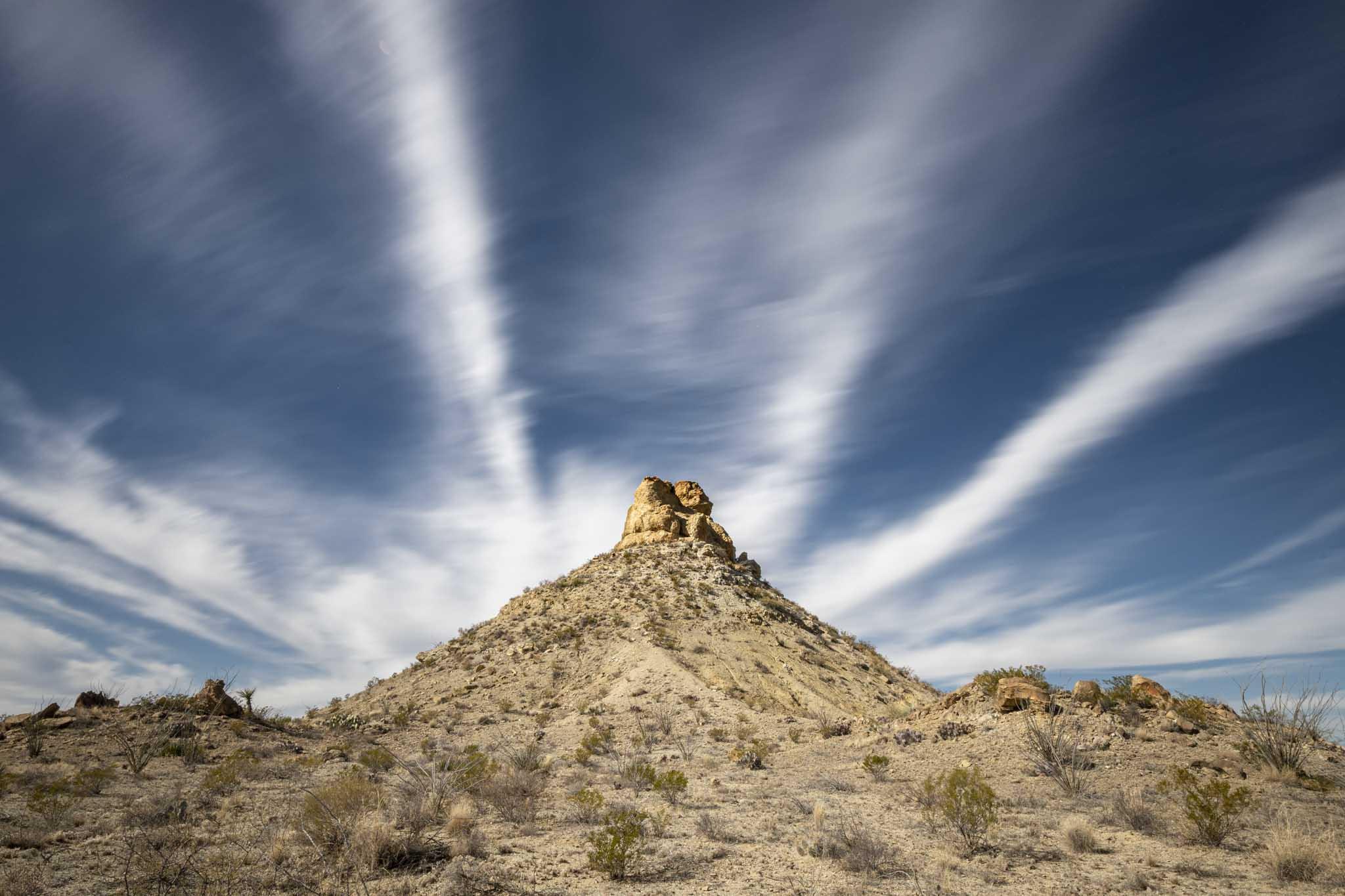 Nubes en el desierto del parque nacional big bend en texas fotografia de paisaje y naturaleza de Pablo Fregoso